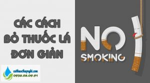 các cách bỏ thuốc lá đơn giản