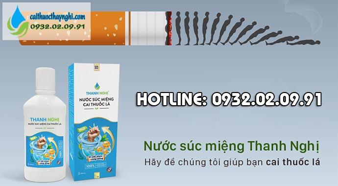 cai thuốc lá thanh nghị hiệu quả an toàn
