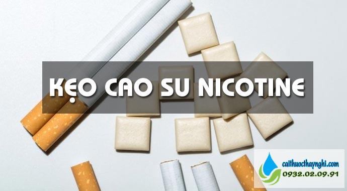 kẹo cao su nicotine
