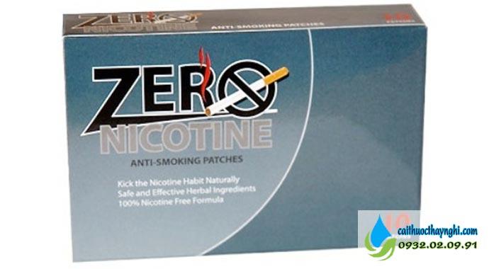 Miếng dán cai thuốc lá Zero Nicotine Patches
