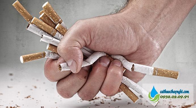 Muốn cai thuốc lá hãy có niềm tin