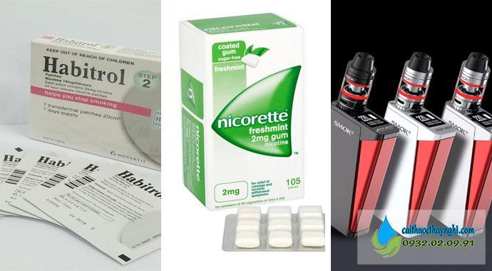 Những sản phẩm cai thuốc lá hiệu quả từ Tây y giúp giảm cơn thèm thuốc lá