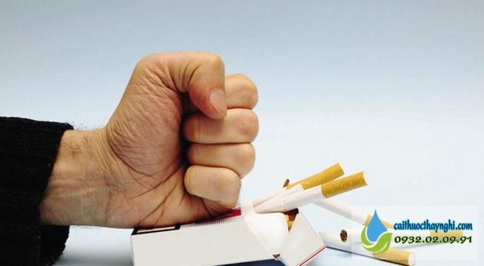 Quá trình cai thuốc lá trong 3 ngày rất dễ dàng
