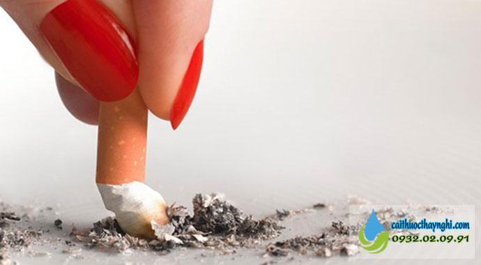 Bạn cần có quyết tâm từ bỏ thuốc lá ngay từ bây giờ