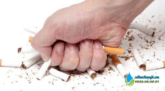 Hãy quyết tâm từ bỏ thuốc lá