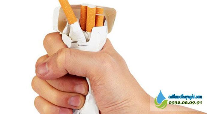 Quyết tâm từ bỏ thuốc lá