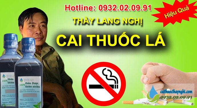 thầy lang nghị cai thuốc lá