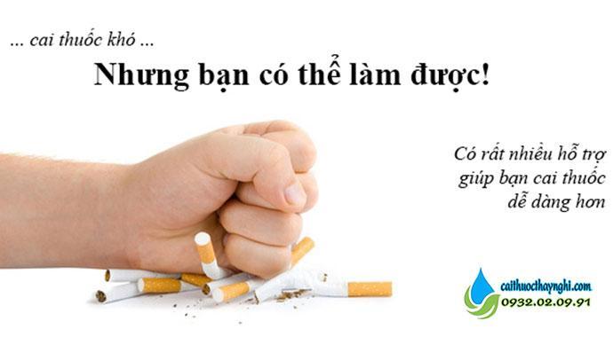 Phải có niềm tin và sự kiên trì để cai thuốc lá thành công