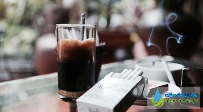 Tránh xa khói thuốc, các cuộc tụ tập cà phê, nhậu nhẹt