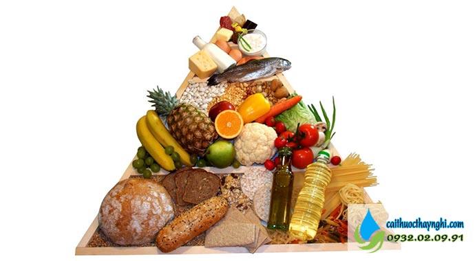 chế độ ăn uống hợp lý không giúp tăng cân