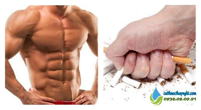 Tăng cân thần tốc sau khi từ bỏ thuốc lá