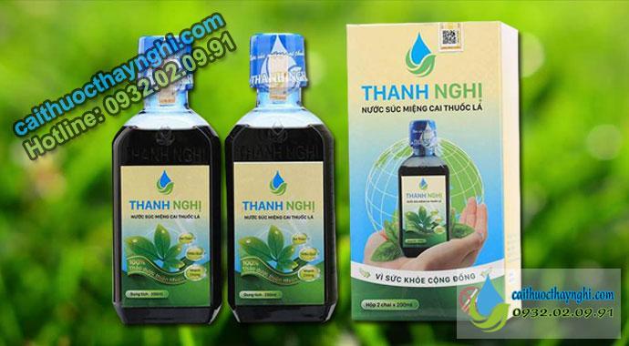 Hướng dẫn bỏ thuốc lá hiệu quả với sản phẩm từ nhà thuốc Thanh Nghị