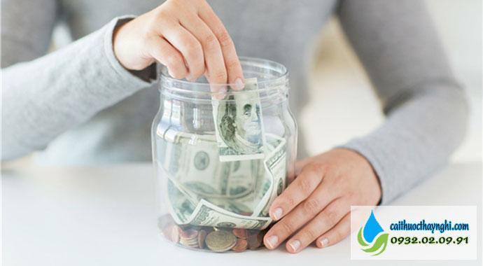 Tiết kiệm được một khoản tiền sau khi bỏ thuốc lá