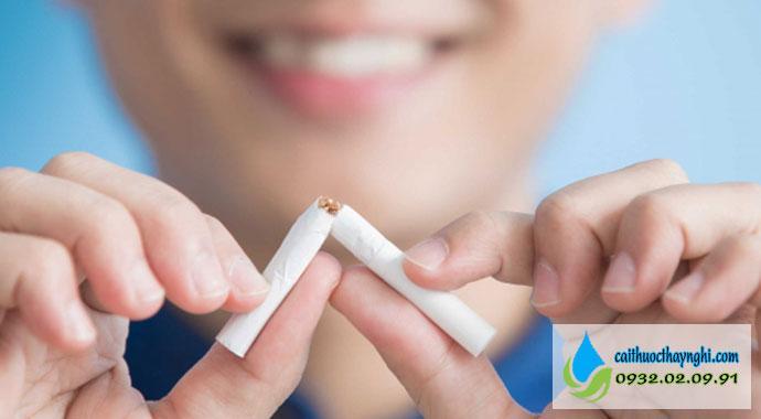 Quyết tâm nói không với thuốc lá