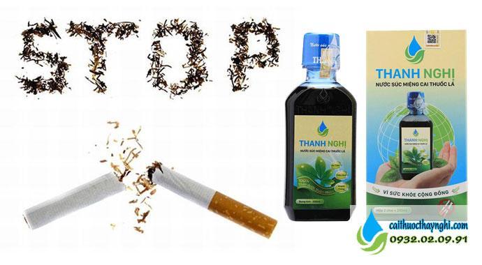 Từ biệt thuốc lá với cai thuốc lá Thanh Nghị