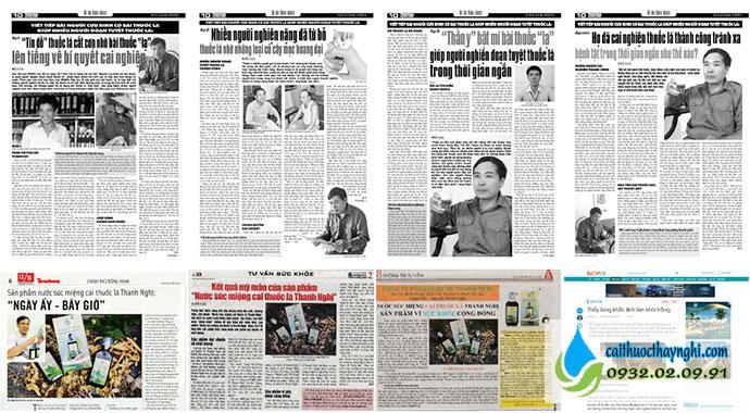 Báo chí viết về bài thuốc của ông Nguyễn Thanh Nghị