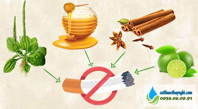 bỏ thuốc lá với các phương pháp dân gian