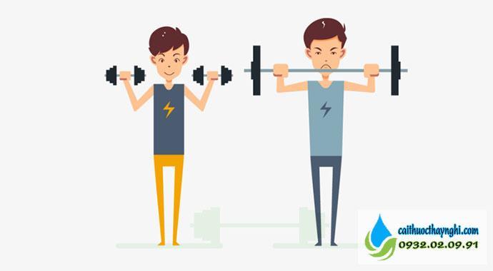 luyện tập thể dục sau khi bỏ thuốc lá