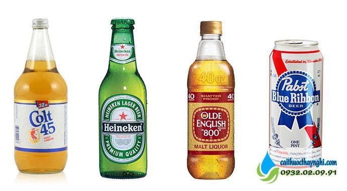 rượu hay bia đây đều là thức uống có cồn