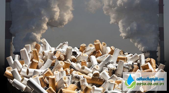 tác hại của thuốc lá đối với môi trường và xã hội