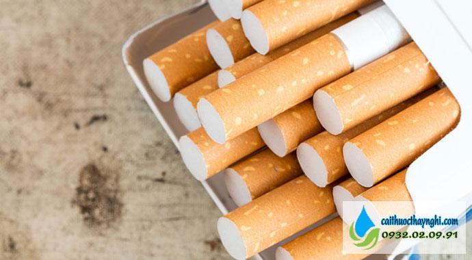 thuốc lá có khả năng gây nghiện