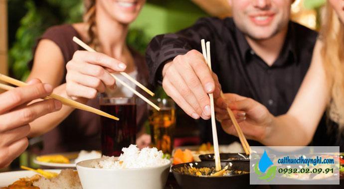 tác dụng của việc bỏ thuốc lá đối với ăn uống