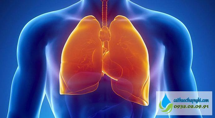tác dụng của việc bỏ thuốc lá đối với phổi