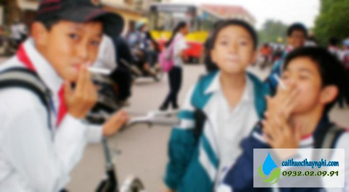 tác hại của thuốc lá đối với học sinh 2