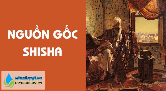 nguồn gốc của shisha
