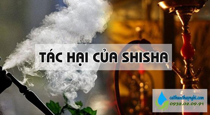 tác hại của shisha