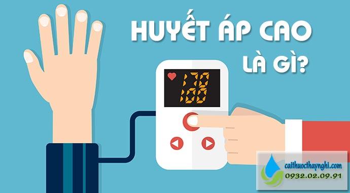 huyết áp cao là gì