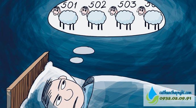 không phải khi cai thuốc lá bạn mới mất ngủ