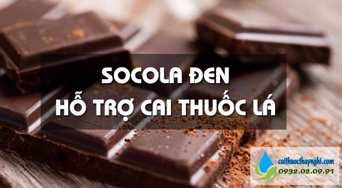 socola đen hỗ trợ bỏ thuốc lá