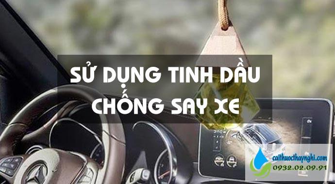 tinh dầu treo ô tô giúp khử mùi thuốc lá