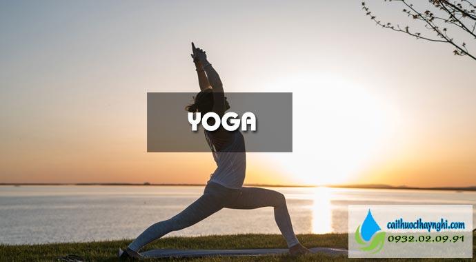 yoga giúp làm sạch phổi sau khi bỏ thuốc lá