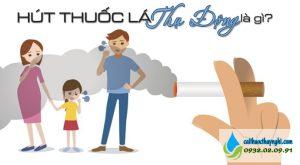 hút thuốc lá thụ động là gì
