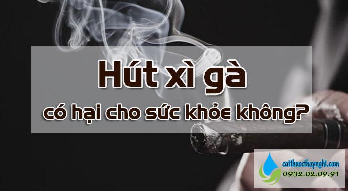 hút xì gà có độc hại không