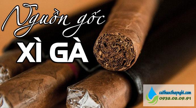 nguồn gốc xì gà