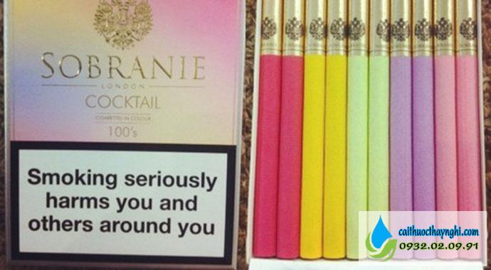 thuốc lá 7 màu