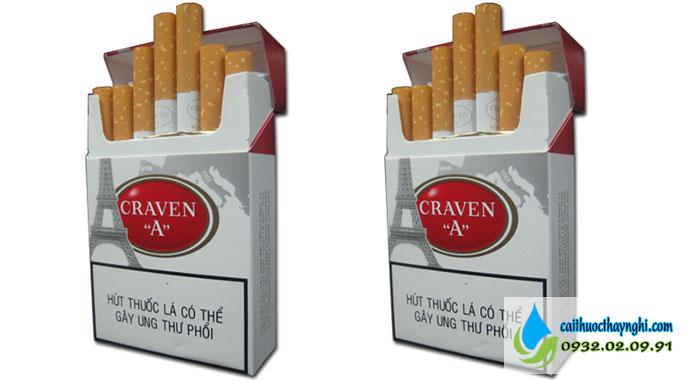 thuốc lá craven thuốc lá con mèo
