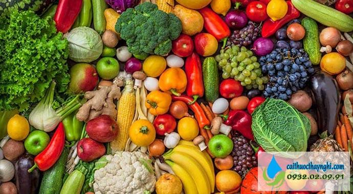dùng một số thực phẩm giúp cắt cơn thuốc