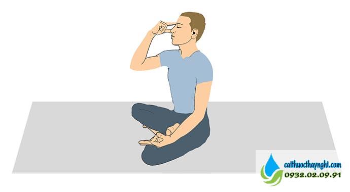 Kỹ thuật thở mũi thay thế - Nadi Shodhan Pranayama