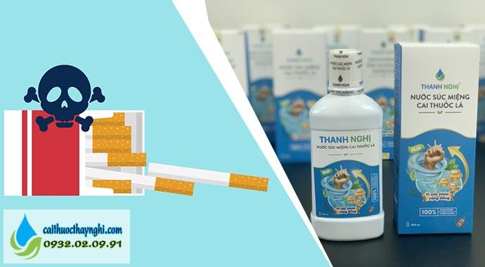 sản phẩm hỗ trợ cắt thèm thuốc lá