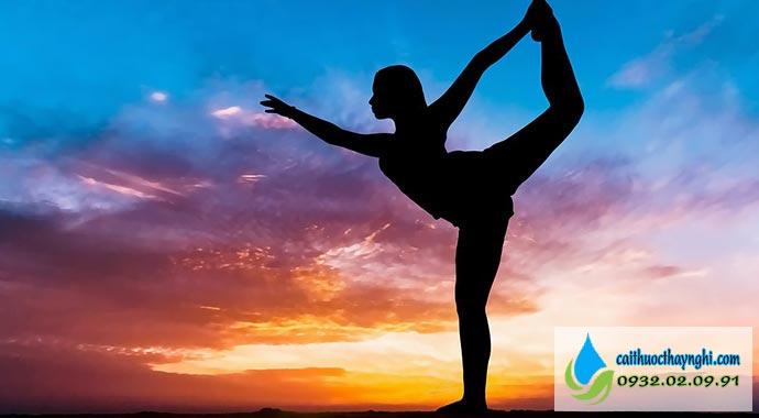 tập yoga bỏ thuốc lá