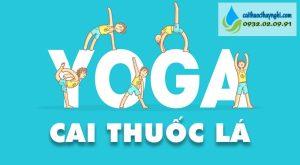 yoga cai thuốc lá