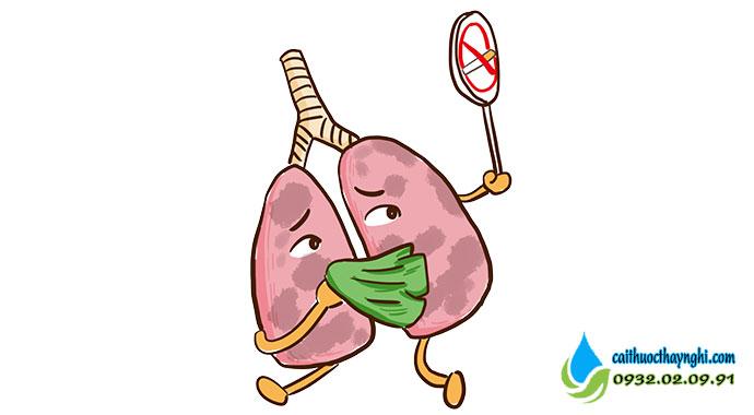 bỏ thuốc lá để phòng tránh ưng thư phổi